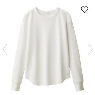 ジーユー(GU)のワッフルT(Tシャツ(長袖/七分))