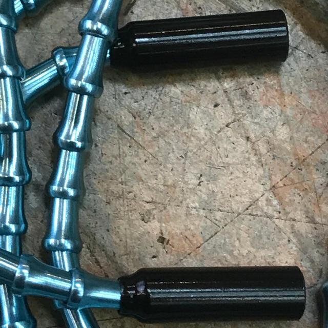 アルミ製軽量ユニバーサルアウターセット 変速用 重量35gスカイブルー スポーツ/アウトドアの自転車(パーツ)の商品写真