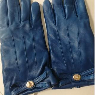 コーチ(COACH)の新品未使用☆COACHブルー手袋(手袋)