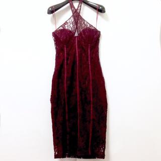 エイソス(asos)のフロントクロスドレス(ナイトドレス)