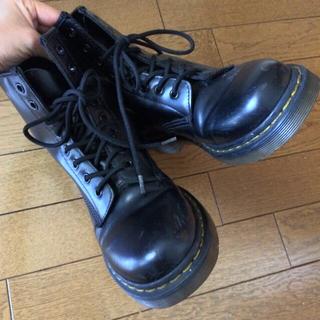 ドクターマーチン(Dr.Martens)の☆Dr.マーチン8ホールブラック☆(ローファー/革靴)