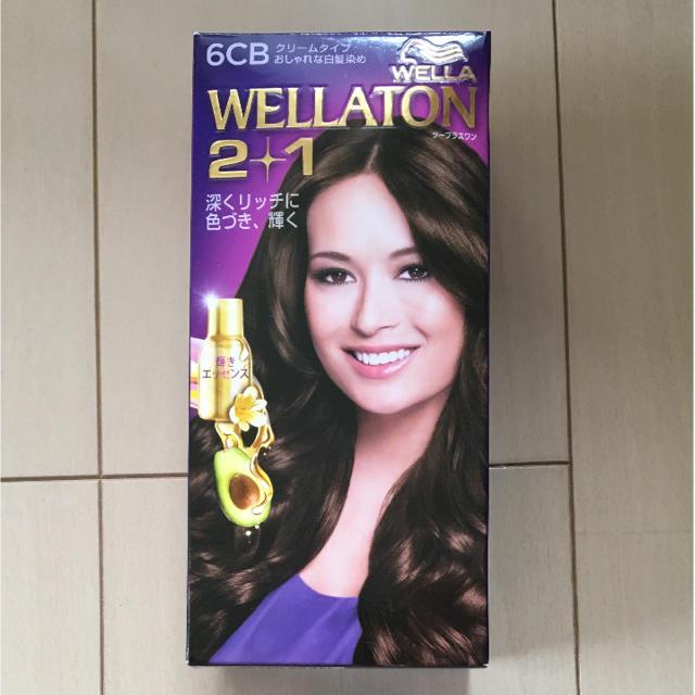 WELLA(ウエラ)の白髪染め  WELLATON  6CB コスメ/美容のヘアケア/スタイリング(白髪染め)の商品写真