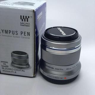 オリンパス(OLYMPUS)のOLYMPUS PEN レンズ 45mm(レンズ(単焦点))