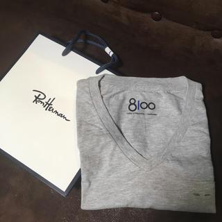 ロンハーマン(Ron Herman)の新品 ロンハーマン RHC 8100 Tシャツ グレー(Tシャツ/カットソー(半袖/袖なし))