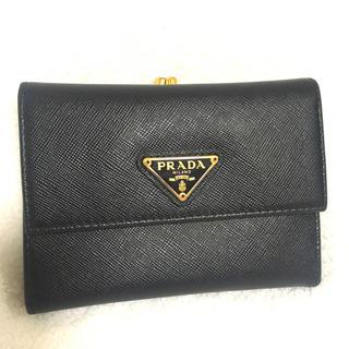 プラダ(PRADA)の【定価90,000円 美品】プラダ 財布 がま口(財布)