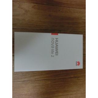 送料無料 新品未使用SIMフリーHuawei novalite2ブラック(スマートフォン本体)