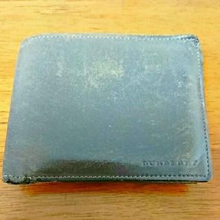 バーバリー(BURBERRY)のバーバリー 二つ折り財布(折り財布)