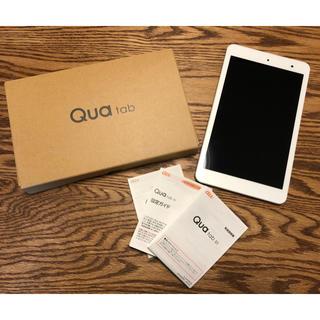 キョウセラ(京セラ)のOT様  新品QUAtab01  タブレット(タブレット)