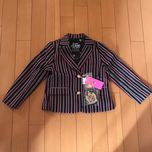 JENNI(ジェニィ)の【新品タグ付き】JENNI ジャケット 110 キッズ/ベビー/マタニティのキッズ服 女の子用(90cm~)(ジャケット/上着)の商品写真