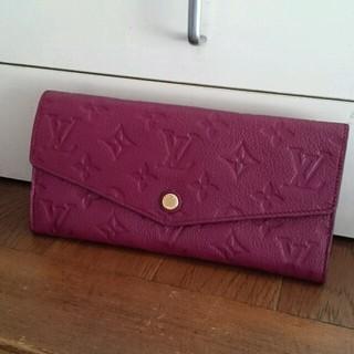 ルイヴィトン(LOUIS VUITTON)の極美品 ルイヴィトン 長財布 キュリユーズ アンプラント(財布)