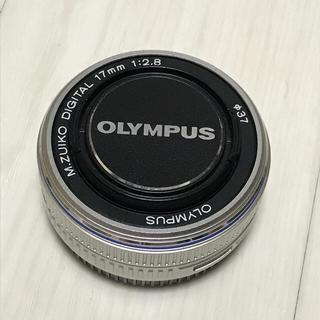 オリンパス(OLYMPUS)のOLYMPUS オリンパス M.ZUIKO 17mm F2.8  【中古品】(レンズ(単焦点))