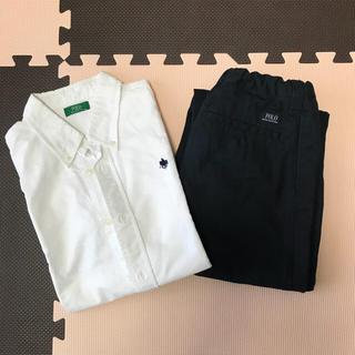 ポロラルフローレン(POLO RALPH LAUREN)のPOLO♡シャツ&パンツセット(ドレス/フォーマル)