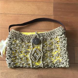 アンティックバティック(Antik batik)の新品 未使用 ANTIK BATIK カゴ バッグ 半額 以下(かごバッグ/ストローバッグ)