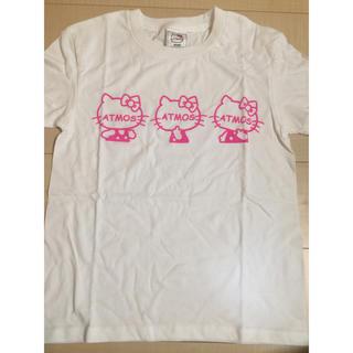 アトモスガールズ(atmos girls)の【新品】ATMOS × KITTY Tシャツ  S 複数割引(Tシャツ(半袖/袖なし))