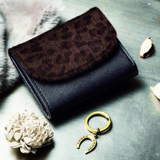 アーバンリサーチ(URBAN RESEARCH)のアーバンリサーチ特製お金を引き寄せるミニ財布 & 馬蹄チャーム付きキーリング (折り財布)