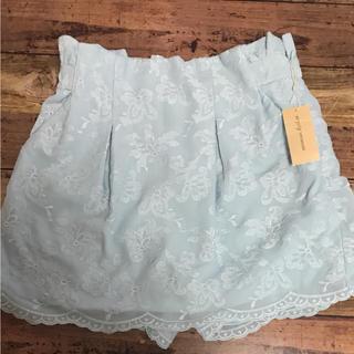 ミスティウーマン(mysty woman)のミスティウーマン スカート風ショートパンツ 新品!(ショートパンツ)