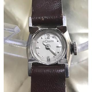 ジャガールクルト(Jaeger-LeCoultre)の(そうこ様専用) レクルト レディース アンティーク時計 10K GF ケース(腕時計)