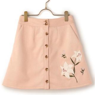リズリサ(LIZ LISA)のリズリサ * フェイクスエード台形スカート(ミニスカート)