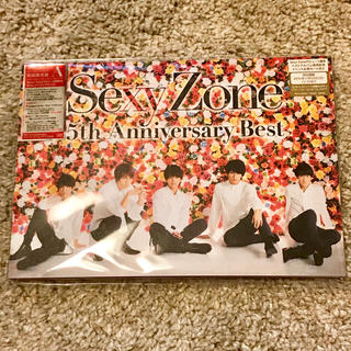 セクシー ゾーン(Sexy Zone)のSexy Zone 5th Anniversary Best 初回限定盤A(ポップス/ロック(邦楽))