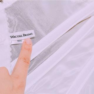 ワコール(Wacoal)ののんさん専用Wacoalワコール/B65/ブライダルインナー +ペチコート(ブライダルインナー)