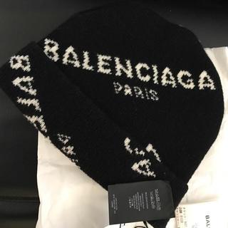 バレンシアガ(Balenciaga)のBALENCIAGA バレンシアガ ロゴニットキャップ ニット帽(ニット帽/ビーニー)