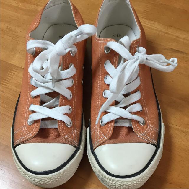 しまむら(シマムラ)の脱色 スニーカー レディースの靴/シューズ(スニーカー)の