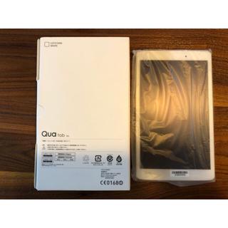 エルジーエレクトロニクス(LG Electronics)の新品未使用 Qua tab PX ホワイト(タブレット)