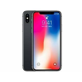 アップル(Apple)のiPhoneX 256GB スペースグレイ docomo MQC12J/A(スマートフォン本体)