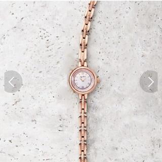 アガット(agete)のアガット ラウンドフェイスソーラーウォッチ(腕時計)