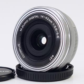 オリンパス(OLYMPUS)の★動画でも大満足★オリンパス14-42mm EZ パンケーキレンズ(レンズ(単焦点))