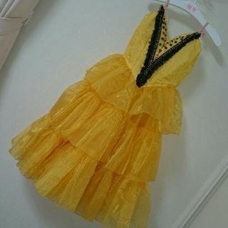 チャコット(CHACOTT)の🌺バレエ♪衣装2~3号相当♪チュチュ♪黄色オレンジ♪ドンキホーテ♪キトリ(ダンス/バレエ)