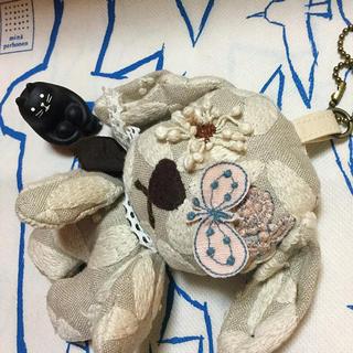 ミナペルホネン(mina perhonen)のdear♡この子♡ベージュ(ぬいぐるみ)