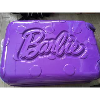 バービー(Barbie)のBarbieキャリー   おまけ付き(スーツケース/キャリーバッグ)