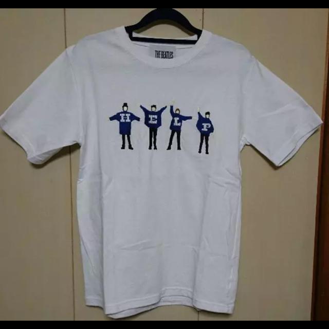 SHIPS JET BLUE(シップスジェットブルー)のbeatles 刺繍 help Tシャツ メンズの