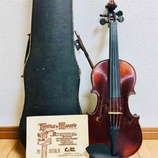 【フランス製:単板】H.DENIS オールド バイオリン 1/8(ヴァイオリン)