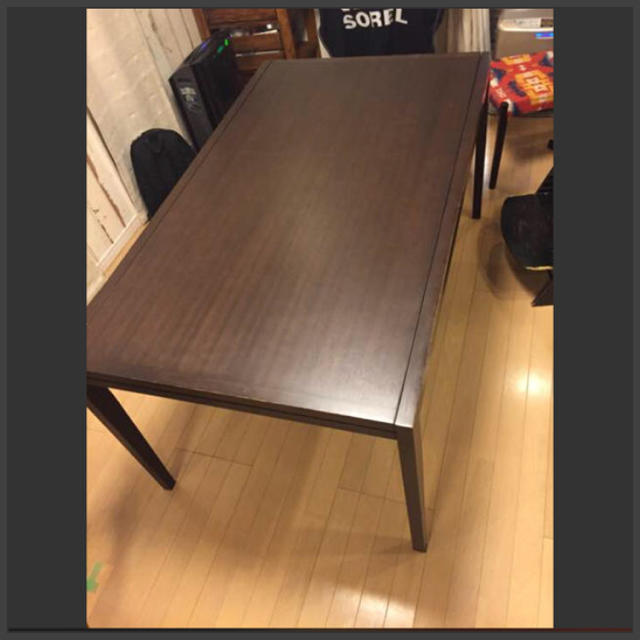 ACTUS(アクタス)のアクタス   伸長式ダイニングテーブル インテリア/住まい/日用品の机/テーブル(ダイニングテーブル)の商品写真