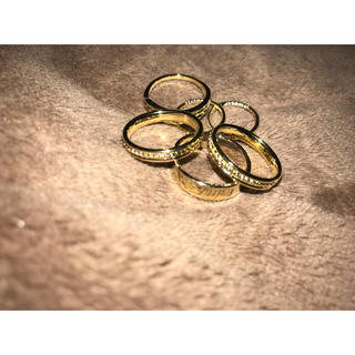 グレイル(GRL)の《美品》GRL ピンキー リング 6点セット(リング(指輪))