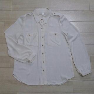 長袖白シャツ(シャツ/ブラウス(長袖/七分))