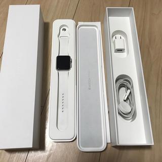 アップルウォッチ(Apple Watch)の初代 Apple Watch Sport 42mm ホワイト(腕時計(デジタル))