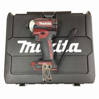 マキタ(Makita)のマキタ 18V インパクトドライバー TD171DZAR レッド 本体とケース(その他)