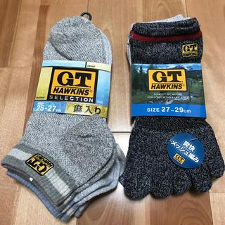 ジーティーホーキンス(G.T. HAWKINS)の新品、未使用 GT HAWKINS ショートソックス 6足セット(ソックス)