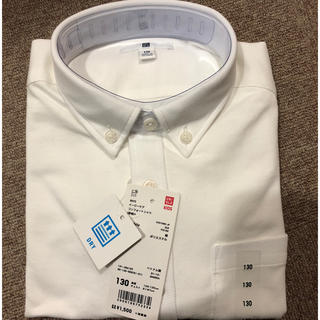ユニクロ(UNIQLO)のUNIQLO BOYS イージーケアコンフォートシャツ(ドレス/フォーマル)