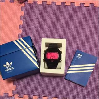 アディダス(adidas)の☆値下げしました☆adidas デジタル時計(腕時計)