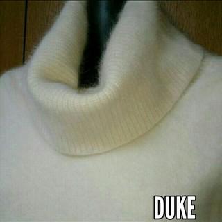 デュークボイド(DUKE BOYD)の最終値下げ【Duke】アンゴラ ふわふわ もこもこ セーター(ニット/セーター)