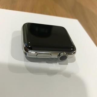 アップルウォッチ(Apple Watch)の新品希少Apple Watch series2 42mmステンレス(腕時計(デジタル))