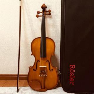 【チェコ製ハンドメイド】Rösler RS3A 3/4 Roslerバイオリン(ヴァイオリン)