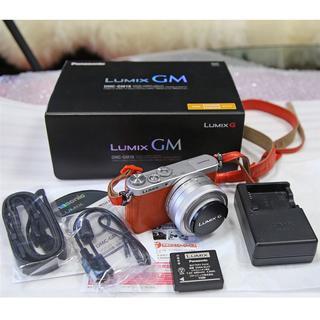 パナソニック(Panasonic)のDSTT様専用★パナソニック  LUMIX DMC-GM1 レンズ付 オレンジ(ミラーレス一眼)
