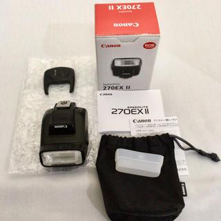 キヤノン(Canon)のCANON Speedlite 270EX II(ストロボ/照明)