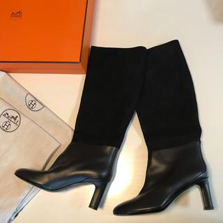 エルメス(Hermes)の新品☆未使用 エルメス ブーツ 37 1/2  高級ブーツ 24.5㎝(ブーティ)