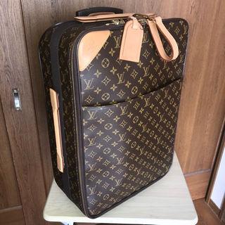 ルイヴィトン(LOUIS VUITTON)の最終お値下げ LOUIS VUITTON ペガス55 キャリーバッグ 旅行鞄(その他)